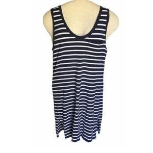 J.Crew Striped Cotton Tank Dress